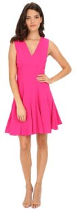 Rebecca Taylor short dress Pink Orchid Crepe A-line on Tradesy