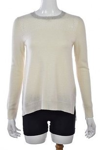 Rebecca Taylor Womens Crew Neck Wool Long Sleeve Shirt Sweater