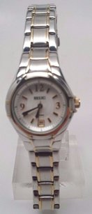 Relic Relic Ladies Zr11814 Two Tone Band And Face W Date
