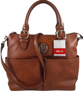 Relic Satchel in Brown