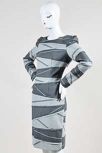 Rena Lange Tri Tone Wool Dress