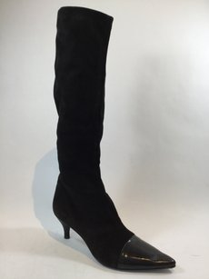 Robert Clergerie Black Suede Boots
