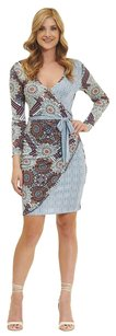 Robert Graham Bessa Faux Wrap Wrap Floral Dress