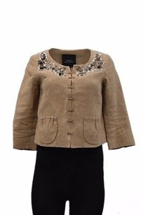 Robert Rodriguez Brown Cocoa Jacket