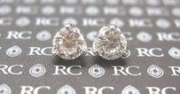 Roberto Coin Roberto Coin 18kt Cento Tulip Diamond Stud Earrings 2.08ct G-vs1