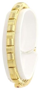 Roberto Coin Roberto Coin Appassionata Bangle Bracelet 12 - 18k Yellow Gold Ruby Accents