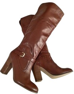 Roberto Vianni Leather Knee High Winter Brown Boots