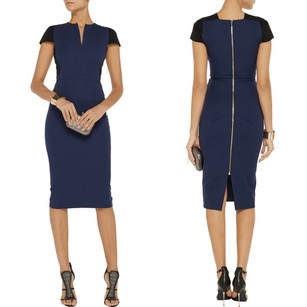 Roland Mouret Panel Classic Sheath Fitted Dress