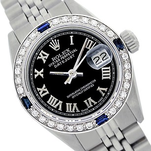 Rolex Rolex Lady Datejust Oyster Perpetual Steel 26mm Black Dial Sapphire