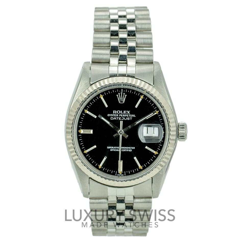 on steel pearl watches bezel dark mother date datejust rose of oyst amp diamond gold fluted rolex dial