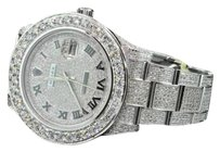 Rolex Custom Made Watch Rolex Date Just Ii Flooded With Genuine Diamonds Mm