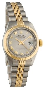 Rolex 18K/SS DATEJUST TWO TONE LADIES WATCH