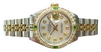 Rolex Ladies Rolex Oyster Perpetual Datejust Diamonds Yellow Gold Stainless Steel
