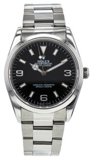 Rolex Men's Oyster Perpetual Explorer 14270 34mm Watch in Stainless Steel RLXSEX13