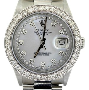 Rolex Men's Rolex Datejust 36mm Diamond S/S Watch