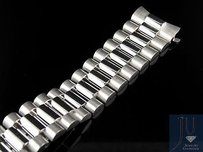 Rolex Mens President Watch Band For Rolex Day-date In 18k White Gold Mm 67 Grams