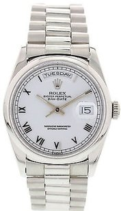 Rolex Mens Rolex Oyster Perpetual Day-date Platinum President 18206