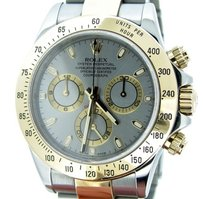 Rolex Mens Rolex Two-tone 18k Goldstainless Steel Cosmograph Daytona Slate 116523