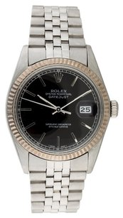 Rolex Rolex Datejust 16014 Stainless Steel Black Dial Men's Watch
