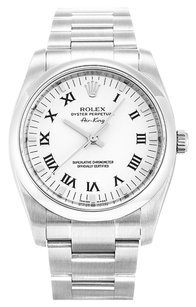 Rolex ROLEX AIR-KING 114200 STAINLESS STEEL WHITE DIAL MEN'S WATCH