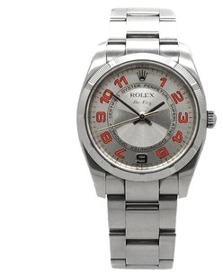 Rolex ROLEX AIR-KING 114210 STAINLESS STEEL CONCENTRIC DIAL MEN'S WATCH