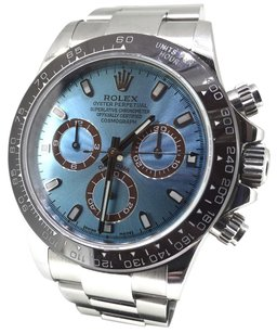Rolex Rolex Cosmograph Daytona Ice Blue Dial Stainless Steel Men's Watch 116520