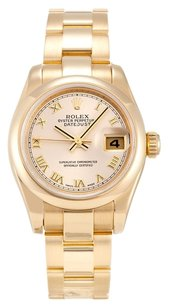 Rolex ROLEX DATEJUST 179168 18K YELLOW GOLD LADIES WATCH
