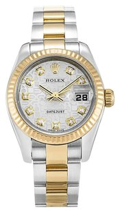 Rolex ROLEX DATEJUST 179173 CUSTOM DIAMOND LADIES WATCH