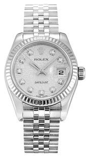 Rolex ROLEX DATEJUST 179174 CUSTOM DIAMOND JUBILEE DIAL LADIES WATCH