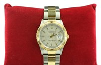Rolex Rolex Datejust 36mm Men's Two-Tone Silver Dial Oyster Watch 16263