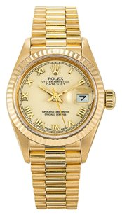 Rolex ROLEX DATEJUST 69178 18K YELLOW GOLD LADIES PRESIDENTIAL WATCH