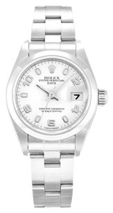Rolex ROLEX DATEJUST 79160 STAINLESS STEEL WHITE DIAL LADIES WATCH