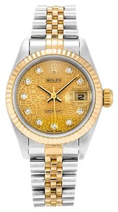 Rolex ROLEX DATEJUST 79173 CUSTOM DIAMOND DIAL LADIES WATCH