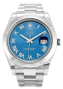 Rolex Rolex Datejust II Stainless Steel Blue Dial Men's Automatic Watch