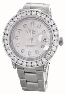 Rolex Rolex DateJust Stainless Steel Diamond Watch