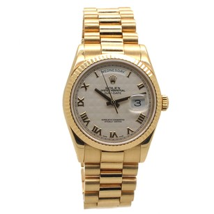 Rolex Rolex Day-Date 118238 Pyramid Dial Men's Presidential Watch