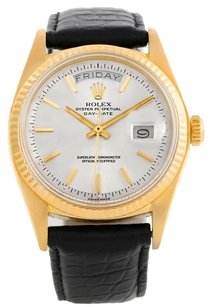 Rolex Rolex Day Date President Vintage 18k Yellow Gold Watch 1803