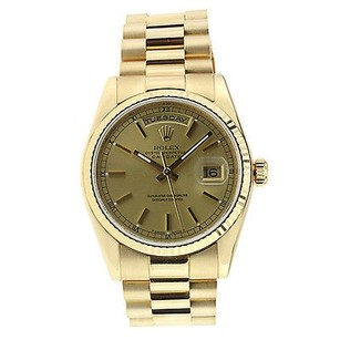 Rolex Rolex Day Date President Watch - 36mm - Champagne Dial - 118238