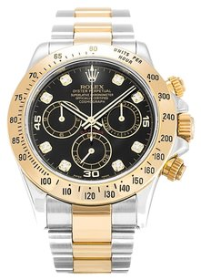 Rolex ROLEX DAYTONA 116523 CUSTOM DIAMOND DIAL MEN'S WATCH