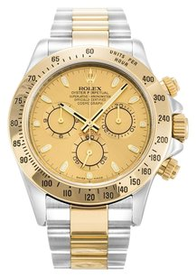 Rolex ROLEX DAYTONA 116523 STAINLESS STEEL CHAMPAGNE DIAL MEN'S WATCH