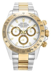 Rolex ROLEX DAYTONA 116523 STAINLESS STEEL AND 18K YELLOW GOLD MEN'S WATCH