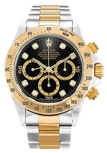 Rolex ROLEX DAYTONA 16523 DIAMOND DIAL MEN'S WATCH