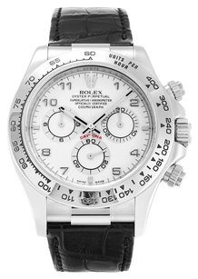 Rolex ROLEX DAYTONA 116519 18K WHITE GOLD WHITE DIAL MEN'S WATCH