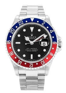 Rolex ROLEX GMT MASTER II 16710 STAINLESS STEEL MEN'S WATCH