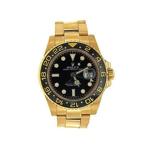 Rolex Rolex Gmt-master Ii - Yellow Gold - 116718