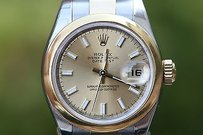 Rolex Rolex Ladies Midsize 31mm 2tone 18k Yellow Gold Stainless Steel 179163 Unworn