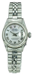 Rolex Rolex Lady Datejust 6517 Steel 26mm White MOP Roman Numeral Dial