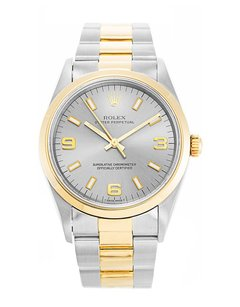 Rolex ROLEX OYSTER PERPETUAL 18K/SS Oyster band Watch