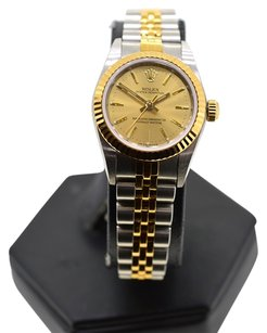 Rolex Rolex Oyster Perpetual 76193 Two Tone Ladies Watch