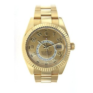 Rolex Rolex Sky Dweller- Yellow Gold - Bracelet- 326938 Wrist Watch For Men